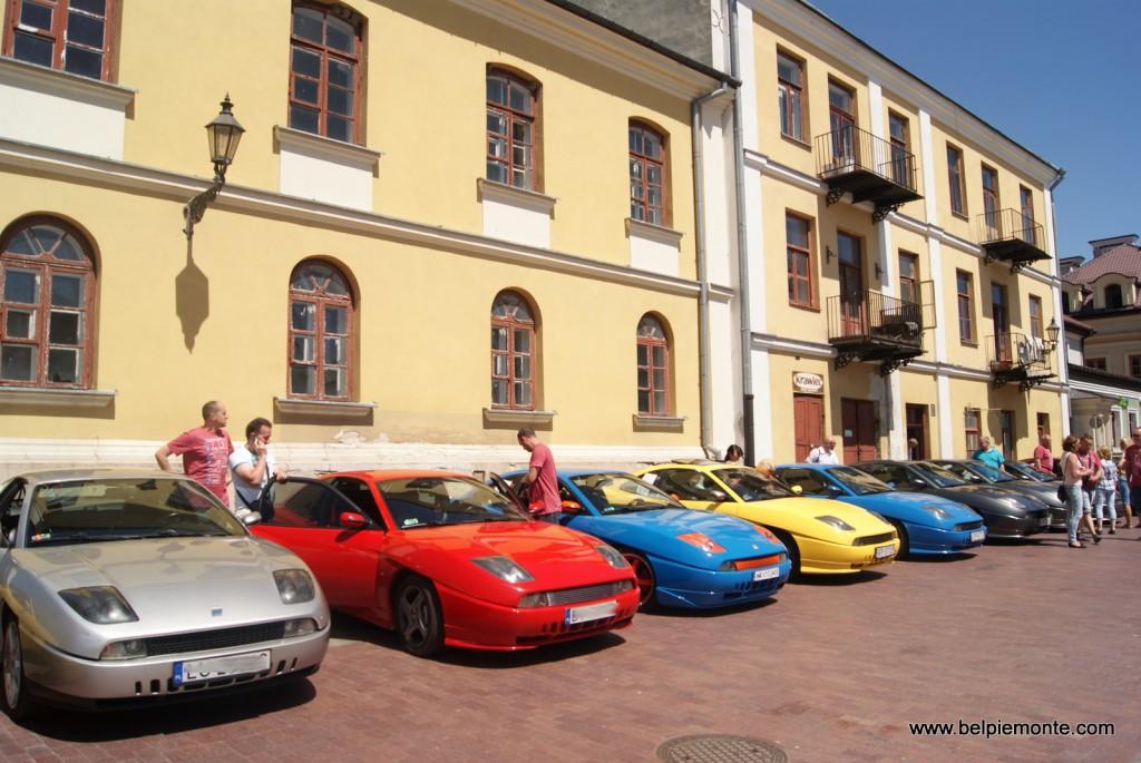Fiat Coupe', Zlot Fiata Coupe' 2015 Zamość-Lublin