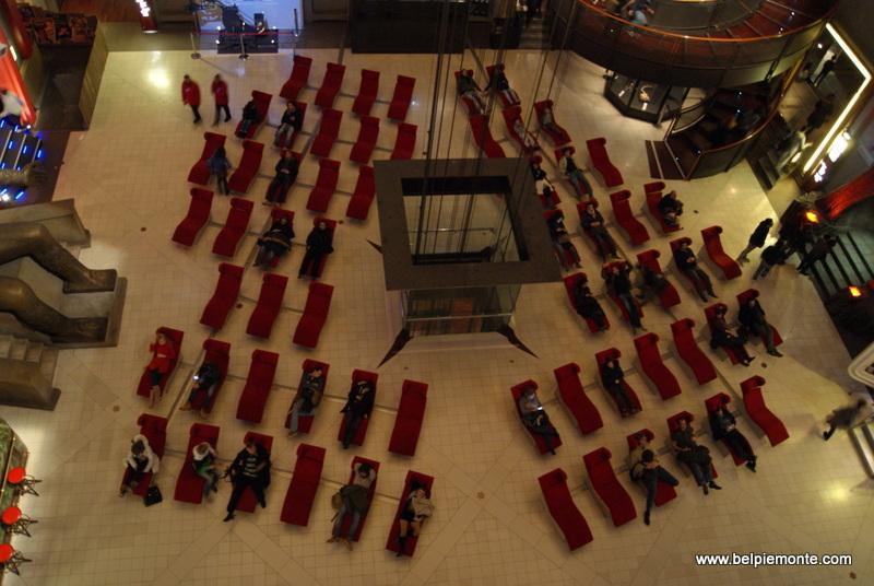 Sala del tempio, Muzum Kina w Turynie, Piemont, Włochy