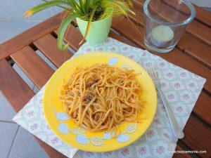 Spaghetti z sardynkami